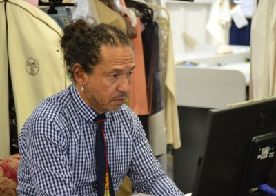 Jahir, workroom manager