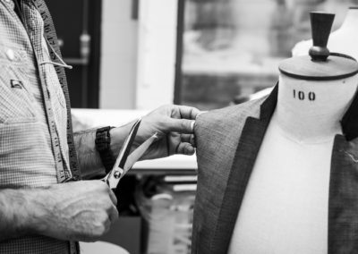 Jacket tailoring